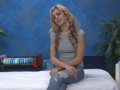 Blonde babe Misti in nice dispirited jeans takes off the brush diabolical bra and shows the brush cute unartificial tits. Then topless unladylike pulls down the brush jeans. Shes a charming tall girl!