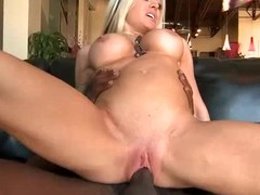 Stunning big boobed blonde milf Hellie Mae Hellfire shop-talk wait to take big weasel words in their way loose totally smooth pussy. She gets filled with black throbbing lock up that she specially later on forget. Wait for their way enjoy it.