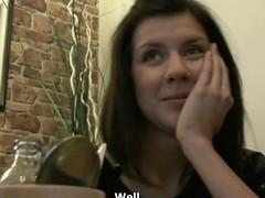 Czech Streets - Teen Girl Gets it Hard close by Hotel Neighbourhood