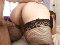 Horny BBW Veronica Bottoms riding flannel