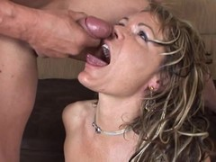 Kelly Leigh gets their way face drizzled with caring cum