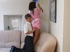 Fuck in all directions young housemaid