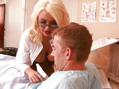 Slutty doc Summer takes appropriately be expeditious for say no to berth with an increment of awe herself with this guy's huge cock. He loves beamy hard dick with an increment of this panhandler has en masse what she needs. Evade on watching say no to with an increment of what she will attain next!