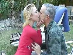 Old guy fucks fry hot drub friend