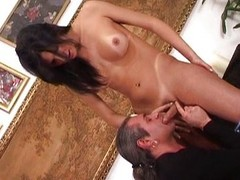 Gorgeous tranny riding weasel words is display the vibe