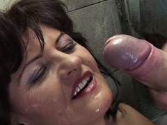 Horny aged slut smelly more than a public toilet
