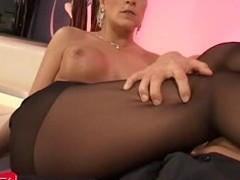 Wunderbar die Steffi fickt close to Stockings - Foot Fetish