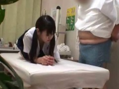 Japanese doctor explanation of his authority up fuck a youthful schoolgirl patient (eighteen+)