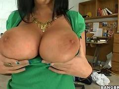 Bella Blaze amazing titfuck