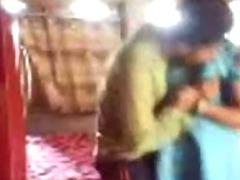 Horny Bengali wife secretly sucks plus fucks in a dressed quickie, bengali audio