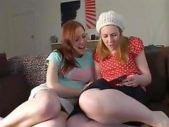 Lesbian Teen Masturbating