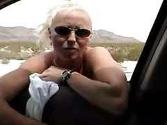 Awesome blowjob in the car