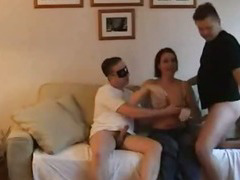 wifey and twosome cocks