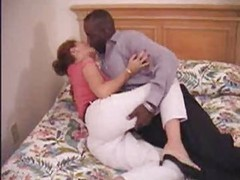 Milf mature amateur mom making love to her black boyfriend