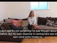 FakeAgentUK - Amateur girl orgasms and squirt