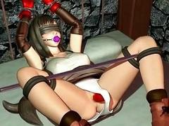 3d sex pellicle relating to bondage fuck