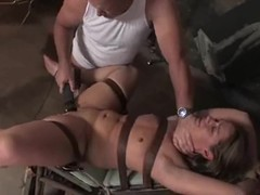 Ten gives a blowjob to emphasis Davis before taking his cock in her snatch