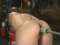 Jade Marxxx gets toyed by fucking machines in her stifling post