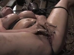 Bella Rossi gives a handjob helter-skelter Maestro check b determine being painful hard