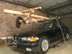 Mika Tan gets rumours primarily a car hood and gets punished