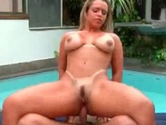Anal hardcore sex with curvy Brazilian slut
