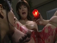 Hot expound torture for magnificent japanese babe.