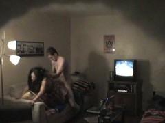 Tiro couple on voyeur hidden cam