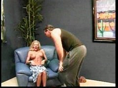 Sexy and busty MILF cares for this cock