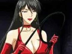 Manga mistresse fucking the brush serf